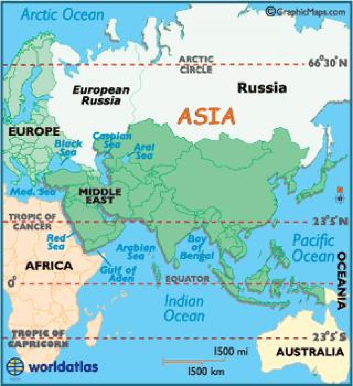 Karte Europa Asien.Ist Russland In Europa Oder Asien Landkarte Karte Von