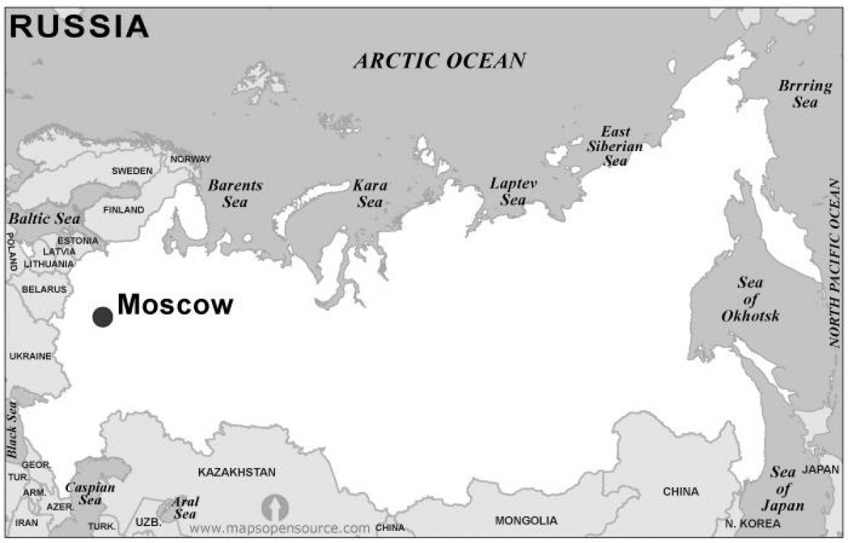 Karte Europa Schwarz Weiss.Russland Karte Schwarz Und Weiss Karte Von Russland Schwarz